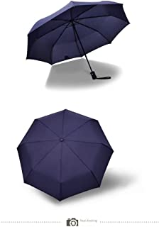One-Button Automatic Opening and Closing Umbrella, Unisex Type, Sunshade, Necessary for Rain Protection, Wind Resistant,Blue