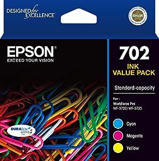 Epson 702 3-Colour Ink Cartridge (Genuine)