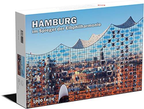 Puzzle Hamburg im Spiegel der Elbphilharmonie, 1000 Teile