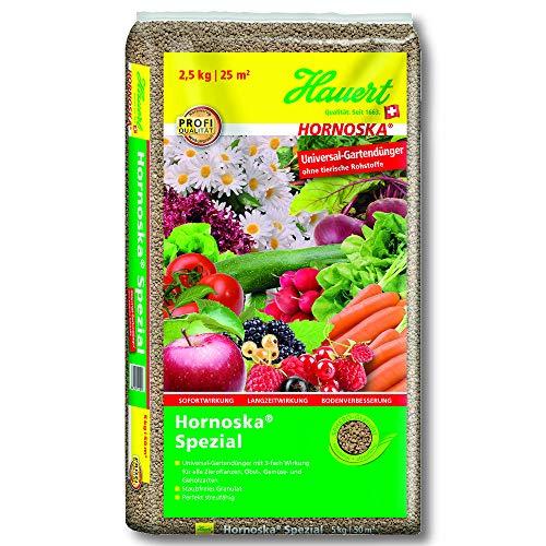 Hauert Universaldünger Hornoska® Spezial 2,5 kg Gemüsedünger Gartendünger Blumen