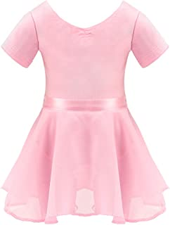 BARWA Me Doll Matching Outfits Clothes 2 PCS Ballet Ballerina Outfits Dance Dress Costume for Girls (120 cm)