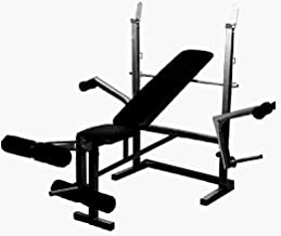 Produman hub lbm1098 Adjustable Weight Lifting Multi-Function Incline, Flat & Decline Bench Press -Made in India