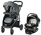 Graco Modes Bassinet LX Travel System Stroller w/SnugLock 35DLX Car Seat -Drew Fashion