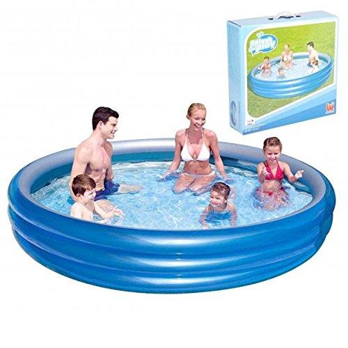 Piscine Gonflable Enfant - Diam.249cm Hauteur 53cm - Bleu - 484