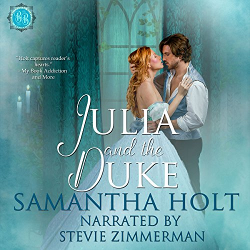 Julia and the Duke audiobook cover art