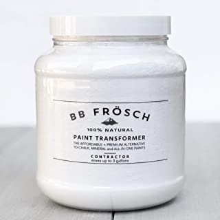 BB Fr�sch Paint Transformer/DIY Chalk Paint Powder. Easily mix w/ANY brand ANY color paint to create premium chalk paint for furniture, cabinets, metal, wood, tile and more! Easy to use! 100% natural.
