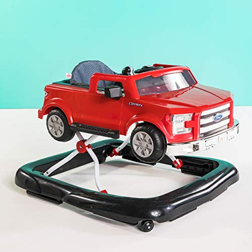 Bright Starts Ford F-150 3 Ways to Play Walker, Red