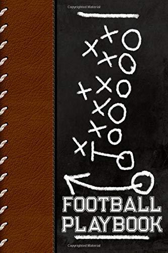 Football Playbook: Football Coach's Notebook - Field Diagram