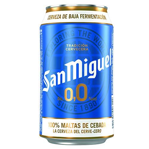 San Miguel 0,0 - Cerveza sin Alcohol - 330 ml