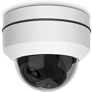 Dome Camera,LEFTEK Mini PTZ Camera RS485 HD Analog 1080P 4X Zoom(2.8-12mm) 65ft IR Distance Outdoor High Speed Dome Camera IP66 Weatherproof Anti-Explosion PTZ Camera-AHD/TVI/CVI/CVBS 4 in 1