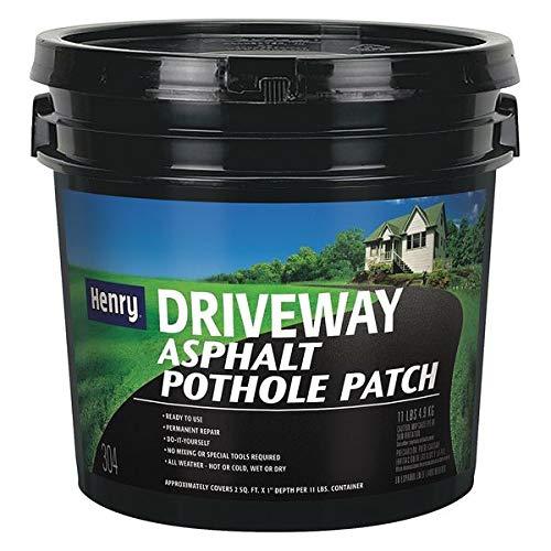 Blacktop Repair, Water, 11 lb, Black, Flat
