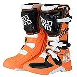 AJL Motocicleta blindado Tobillo Zapatos de Protección Crash - Botas de Moto Impermeable...
