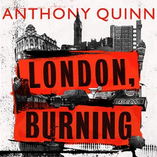 London, Burning cover art