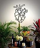 MPQ Corazón, Hermoso Adorno Colgante para Colgar en la Pared para Cualquier hogar, Decora tu hogar Inspirado en la Naturaleza, decoración, interiorismo, Arte,Interiores, diseño de Interiores