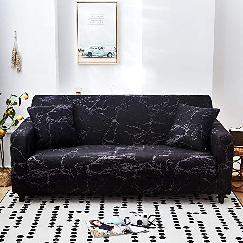 Funda de sofá elástica con patrón geométrico Fundas de sofá elásticas con Todo Incluido para Sala de Estar Funda de sofá Fundas de sofá A17 2 plazas