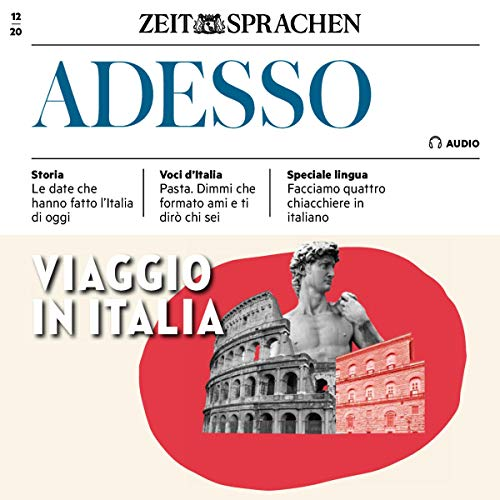 Adesso Audio - Viaggio in Italia. 12/2020 Titelbild
