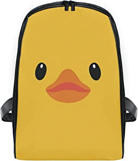 ZZXXB Duck Backpack Kids Toddler Child Preschool Kindergarten Waterproof Book Bags Travel Daypack for Boys and Girls