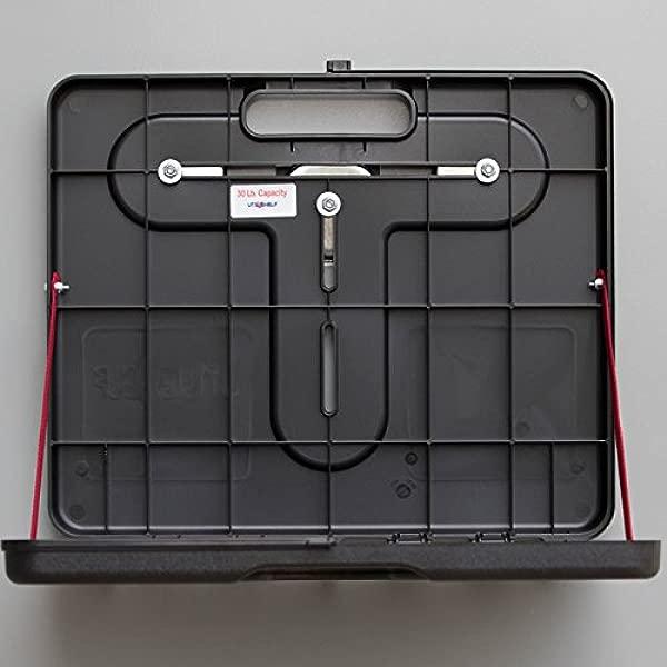 The UtiliShelf Magnetic Portable Utility Shelf PLUS 30lb Capacity