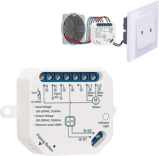 LoraTap Interruttore Tapparelle WiFi, Modulo Comando per Tapparelle Elettriche, Controllo Vocale con Alexa e Google Home, ...
