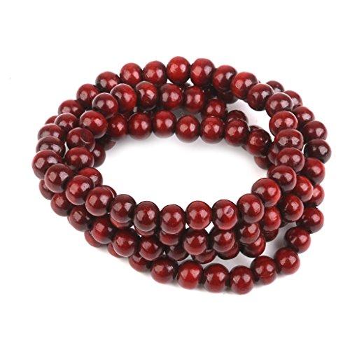 yotijar Mala in Palissandro 108 Pezzi Perline Braccialetto Rosario Perline di Preghiera Buddista