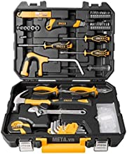 TOOLSCENTRE Metal Tool Kit for Home and Professional Use (Yellow)