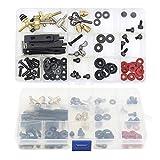 Kit de pièces de machine à tatouer - Kit de bricolage Unihubys Pièces et accessoires de tatouage pour Kits de machine à tatouer Kit de réparation de tatouage Fournitures de pistolet de tatouage