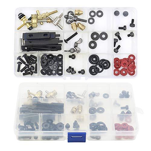 Autdor Tattoo Machine Parts Kit - DIY Tattoo Parts and Accessories for Tattoo Machine Kits Repair Tattoo Parts Kit and Maintain Tattoo Kits for Tattoo Gun, Tattoo Supplies