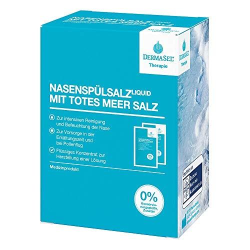 DERMASEL Therapie Totes Meer Nasenspülsalz liquid 20 St