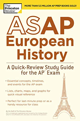 ASAP European History: A Quick-Review Study Guide for the AP Exam (College...