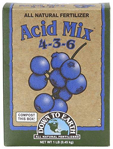 Down to Earth All Natural Acid Mix Fertilizer 4-3-6, 1 lb