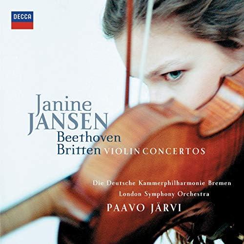 Janine Jansen, Die Deutsche Kammerphilharmonie Bremen, London Symphony Orchestra & Paavo Järvi