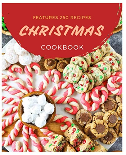 Paperback - Features 250 Recipes CHRISTMAS CookBOOK: Betty Crocker Christmas Cookbook