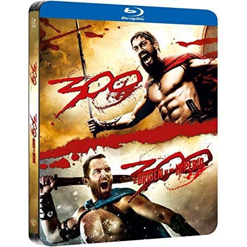 Pack 300 1+2 Black Metal Edition Blu-Ray [Blu-ray] a buen precio