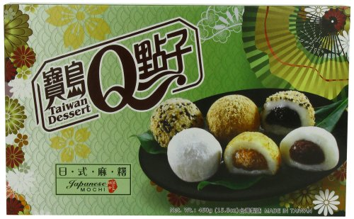 Taiwan mochi museum Mochi Assortiti 3 Varietà 450 gr