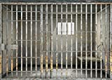 7x5ft Prison Jail backdrop Computer printed party Photography Backgrounds lyshu-201924233