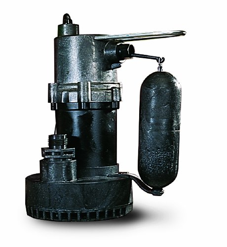 Little Giant 505700 5.5 ASP Submersible Sump Pump