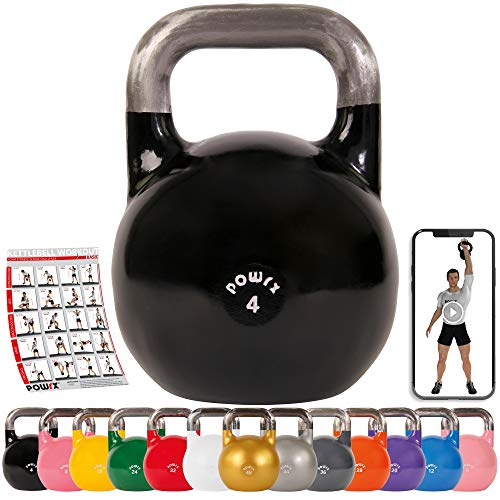 Powrx Competition Kettlebells For Building Strength, Increased...