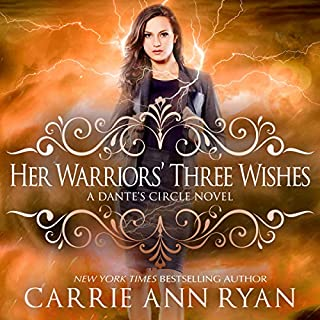 Her Warriors' Three Wishes audiobook cover art