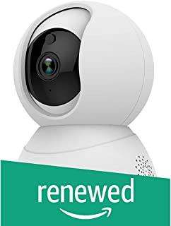 (Renewed) Golden Vision Dome 1080p WiFi Camera (White) - Powered by YI