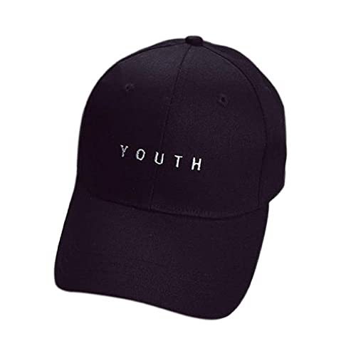 d02eedc9736 Rcool Fashion Embroidery Cotton Adjustable Baseball Cap Boys Girls Snapback  Hip Hop Flat Hat with Youth