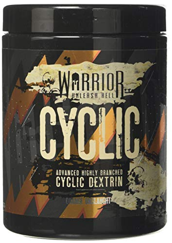 Warrior Cyclic Dextrin Pre and Intra-Workout Carbohydrate Muscle Pump Powder 16 Servings (400g) (Orange Onslaught)