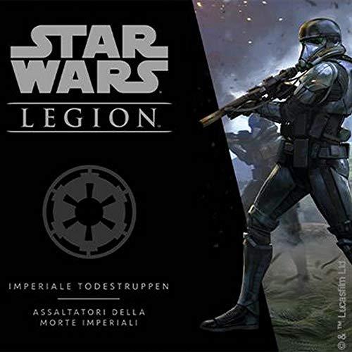 Fantasy Flight Games FFGD4627 Asmodee Star Wars: Legion Imperiale Todestruppen Erweiterung, Tabletop, Deutsch