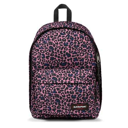 Eastpak Out Of Office Mochila  44 Cm  27  Safari Leopard  Azul