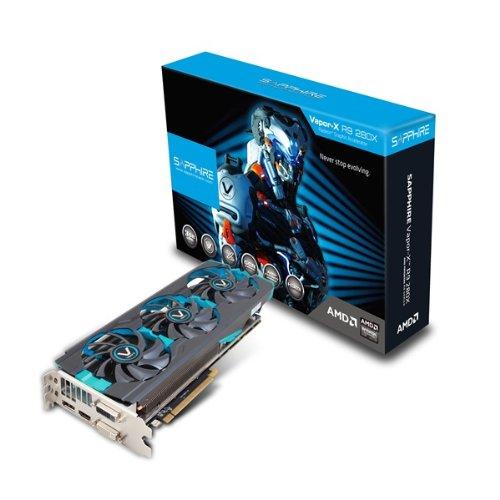 SAPPHIRE Vapor-X R9 280X 3072MB GDDR5 384bit PCI-E