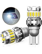 OXILAM T16 LED, バックランプ 爆光 後退灯 キャンセラー内蔵 Canbus T15 W16W バックランプ 無極性 ホワイト 1年保証 (2個入)