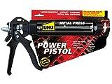 UHU Pistola aplicadora robusta para todos los cartuchos adhesivos y selladores comunes.