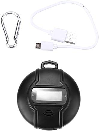 Mosquito Ahuyentador Repelente Portátil Solar + USB Powered Ultrasonidos Ahuyentador para Picnics Mosquito Asesino Interior Acampar al Aire Libre y Senderismo