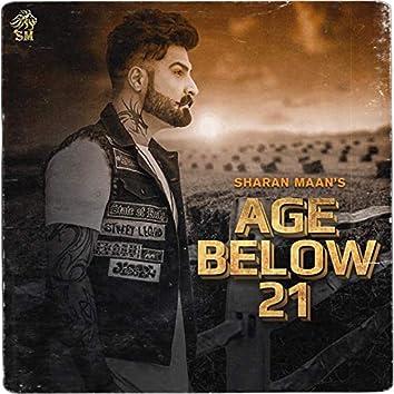 Age Below 21