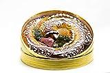Anguila de Mazapán Tradicional de Toledo rellena de Yema. Calidad Suprema. Mazapanes Barroso. Anguila de Mazapan del Nº1. Peso Neto 450 gramos.
