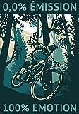 0,0% Émission 100% Émotion: Carnet de cyclisme | Journal d'entrainement Vélo | Notez vos Sorties ou Sessions, Suivez vos performances et améliorez ... pour Cycliste et amoureux de Bicyclette.